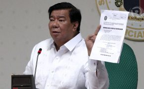 "Sen. Franklin Drilon's Statement on PDAF Case: ""Administration Revenge and Black Propaganda"""