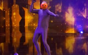 Dancing Pumpkin Man Impress Judges during Judges Cuts of America's Got Talent 2017