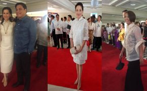 SONA 2017 Red Carpet List of Photos in Mindanao-Inspired Outfits