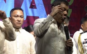 Watch: President Rody Duterte Faced Protesters After Delivering His Second SONA Speech