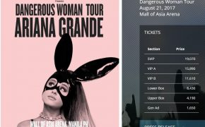 Ariana Grande's The Dangerous Woman Tour on August 21, 2017