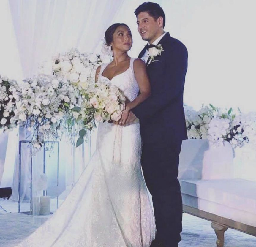 Sunshine Cruz Wedding Gown: Watch: Rochelle Pangilinan Marries Her Long-time Boyfriend
