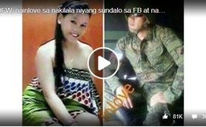 OFW Lyn De Guzman and Cpl. Anselmo Tugade Jr. Love Story Viral Online