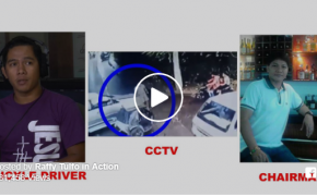 VIRAL VIDEO: Caught on Camera Tricycle Driver Alvin Santos Beaten Up by Brgy. Chairman Edward Guanzon