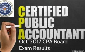 October 2017 Certified Public Accountant (CPA) Board Exam Results (Surname U to Z)