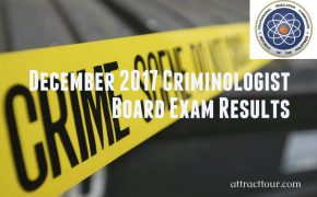 Congratulations! December 2017 Criminologist Board Exam Results (Surname A to C)