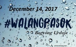 #WalangPasok: Updated Lists of Class Suspensions on Thursday, December 14, 2017
