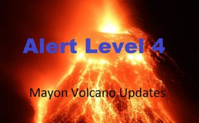 PHOTOS: Mayon Volcano Raises Alert level 4, says PHIVOLCS