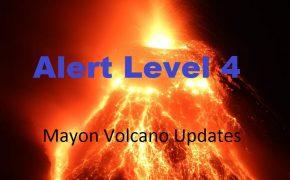 PHOTOS: Mayon Volcano Raises Alert level 4, says PHIVOLCS
