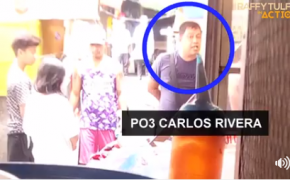 Viral Police! PO3 Carlos Rivera Lagot Kay Idol Raffy Tulfo from Threatening Side Walk Vendor Rosalinda Torillo