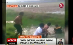 Viral Video: Traffic Enforcer harassed by a rider and his family @ Raffy Tulfo in Action