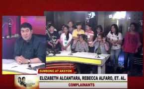 Factory Workers Complains About Delayed Salary @Raffy Tulfo in Action on January 17, 2018 Episode