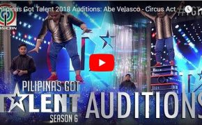 Pilipinas Got Talent (PGT) Season 6 Abe Velasco-Circus Show on February 17, 2018 Episode #BreathtakingPerformance