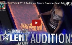 Pilipinas Got Talent (PGT) Heart-Touching Sand Art Performance of Bianca Gaviola on February 18, 2018 Episode
