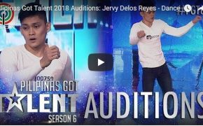 Pilipinas Got Talent (PGT) Jervy Delos Reyes Emotional Dance Performance on February 18, 2018 Episode