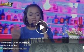 Donna Cariaga on Donna What To Do, Donna What To Say on It's Showtime on February 16, 2018 Episode