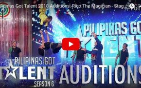 Pilipinas Got Talent (PGT) Season 6 Rico The Magician-Magic Tricks on February 18, 2018 Episode