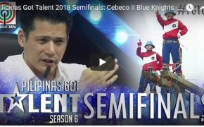Pilipinas Got Talent (PGT) Season 6 2018 Semi-Finals: Cebeco II Blue Knights-Very Risky Performance of Pole Balancing on April 22, 2018 Episode