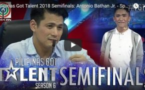 Watch: Pilipinas Got Talent (PGT) 2018 Season 6 Sweet Words of Antonio Bathan Jr.,-Spoken Word Poetry