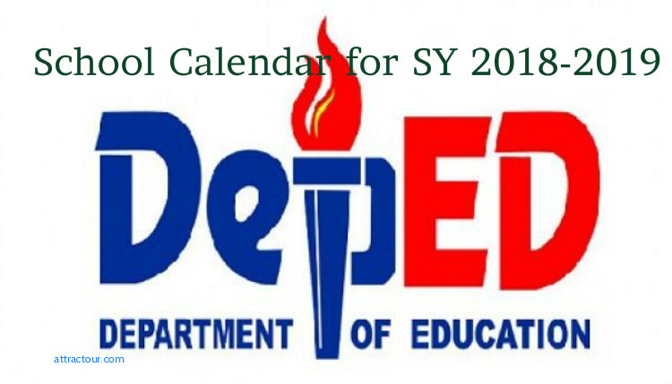 Deped Releases Official Schedule Of School Year Sy 2018 2019
