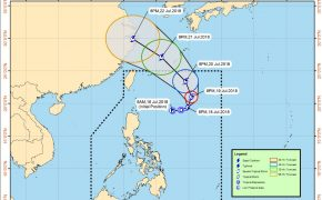 "Weather Update: Bagyong ""INDAY"" Intensified into a Tropical Storm"