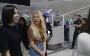 FULL VIDEO: Korean Girl Group Momoland arrives in Ninoy Aquino International Airport Terminal 1