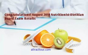 Congratulations! August 2018 Nutritionist-Dietitian Board Exam Results