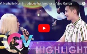 Gandang Gabi Vice: Nathalie Hart introduces her brother to Vice Ganda