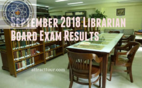 FULL RESULTS: September 2018 Librarian Board Exam Results