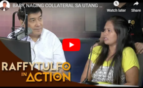 Raffy Tulfo in Action: Russel Marbella, Her Baby Becomes Collateral for a 16K Debt