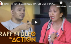 Raffy Tulfo in Action on October 22, 2018 Episode #Top 1 Sa Drugs Watch List, Pinahuhuli Ni Misis! Pero Misis, Gumagamit Din Daw?