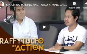 Raffy Tulfo in Action on October 23, 2018 Episode #Kinain Ng Makina Ang Tatlo Niyang Daliri!
