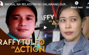 Raffy Tulfo in Action on October 23, 2018 Episode #Imoral Na Relasyon Ng Dalawang Guro, Inireklamo Ni Misis Dahil Na Trauma ang Kanilang Anak!