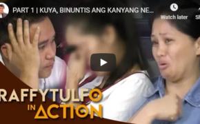 Raffy Tulfo in Ation on November 12, 2018 Episode #Kuya, Binuntis ang Kanyang Pinsan, Auntie, Nangagalaiti!