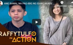 Raffy Tulfo in Action on December 4, 2018 Episode # Ang Bawal Na Pag-ibig Ng Isang Nurse at Pharmacist. Pareho Silang Kabit!