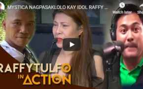 Raffy Tulfo in Action Episode # Mystica, Nagpasaklolo Kay idol Raffy Sa Away Nila Niño at Drew (Complete Version)