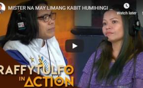 Raffy Tulfo in Action Episode # Mister Na May Limang Kabit, Humihingi ng Last Chance Kay Misis!