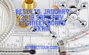 CONGRATULATIONS! January 2019 Sanitary Engineer Board Exam