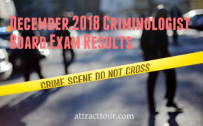December 2018 Criminologist Board Exam Result (H-Z)