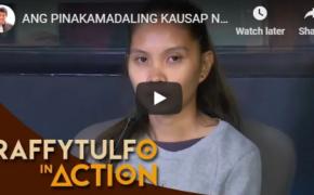 Raffy Tulfo in Action on February 4, 2019 Episode # Ang Pinakamadaling Kausap Na Biyenan!