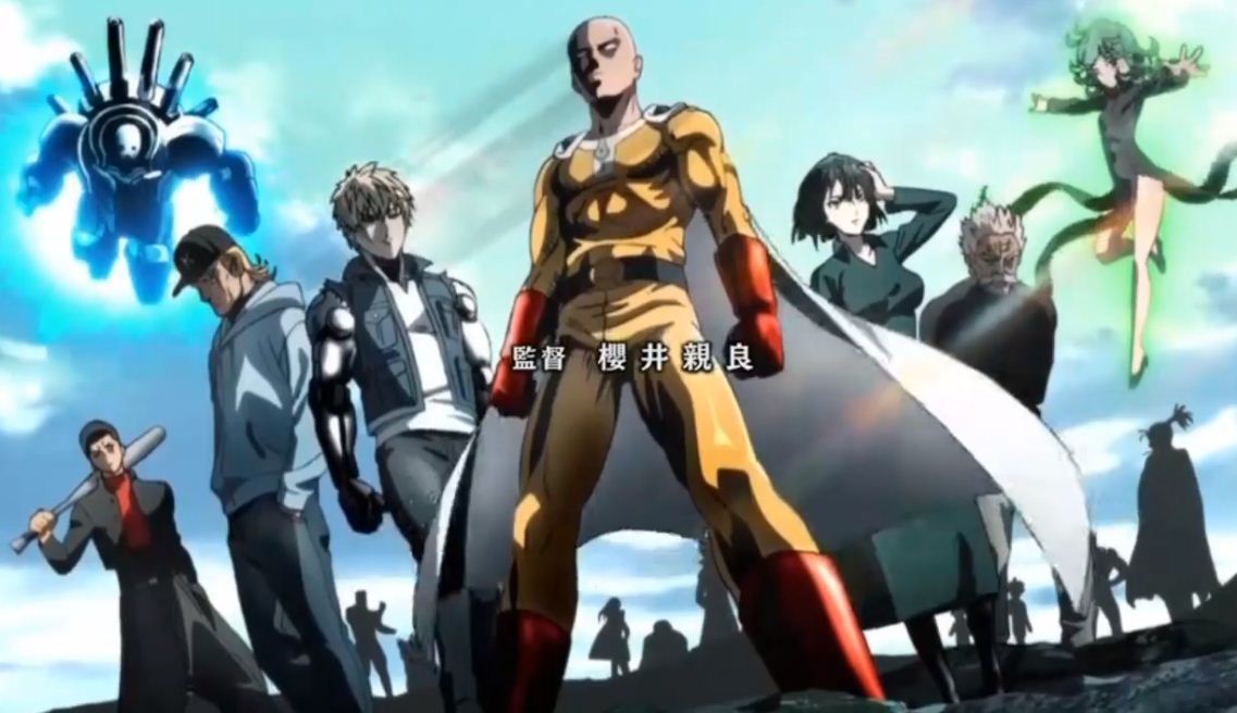 Live-Stream NOW: One Punch Man Season 2 Episode 2 English Subbed