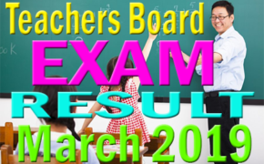 March 2019 Elementary Teachers Board Result Surname V-W-X-Y- Z