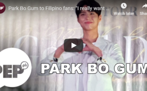Watch Park Bo Gum Answer Questions From Filipino Press