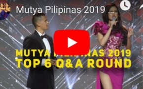 See Here: List of Winners Mutya ng Pilipinas 2019