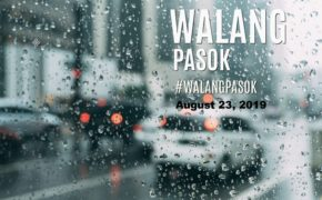 #Walang PASOK August 23, 2019 Due to Tropical Storm Ineng (Bailu)
