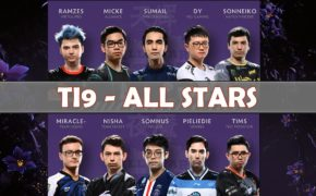 Live now: Ti9 Dota2 All Star Match Main Event