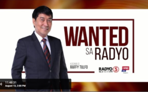 Live Now: Raffy Tulfo In Action Wanted Sa Radyo August 21, 2019 (Wednesday)