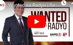 WATCH LIVE: Wanted Sa Radyo Raffy Tulfo In Action September 20, 2019 (Friday)