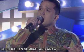 "Jojo Abellana Sings ""Kahit Isang Saglit"" on TNT Champions Episode on October 18, 2019"