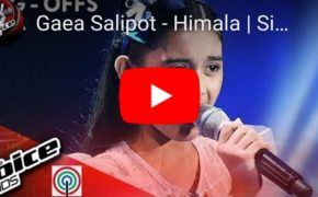 "Watch: The Voice Kids Gaea Salipot Heart Warming ""Himala"" Performance"